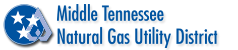 Middle Tennessee Natural Gas  Utility District