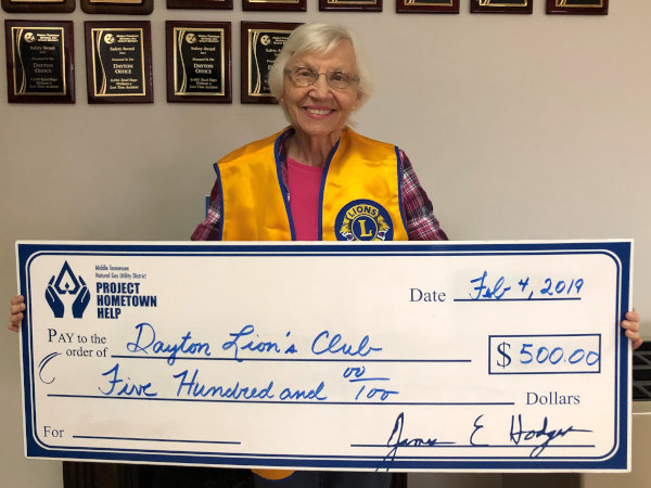 MTNG donates to Lions Club