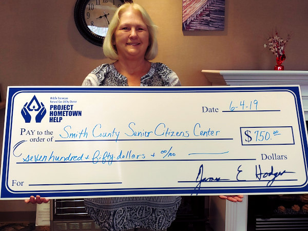 PHH donates to senior citizens center