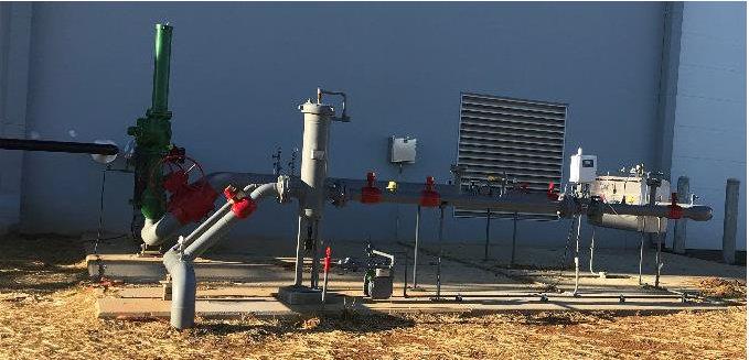 MTNG Regulator and Metering Station