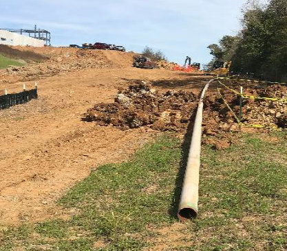 MTNG Pipeline under Construction
